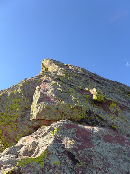Rock Climbing Photo: Southern summit of the Goose.