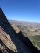 Rock Climbing Photo: View north.