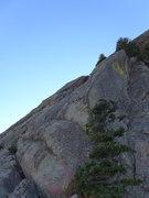 Rock Climbing Photo: First pitch (original start).