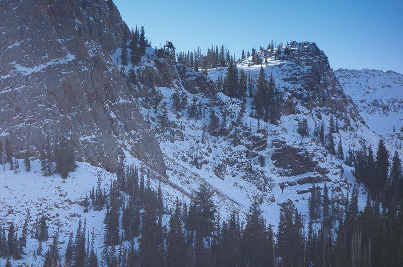 Rock Climbing Photo: Sun Dial Ice