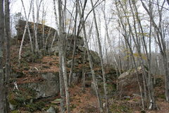 Rock Climbing Photo: The Lost Boys Boulders, found once more.