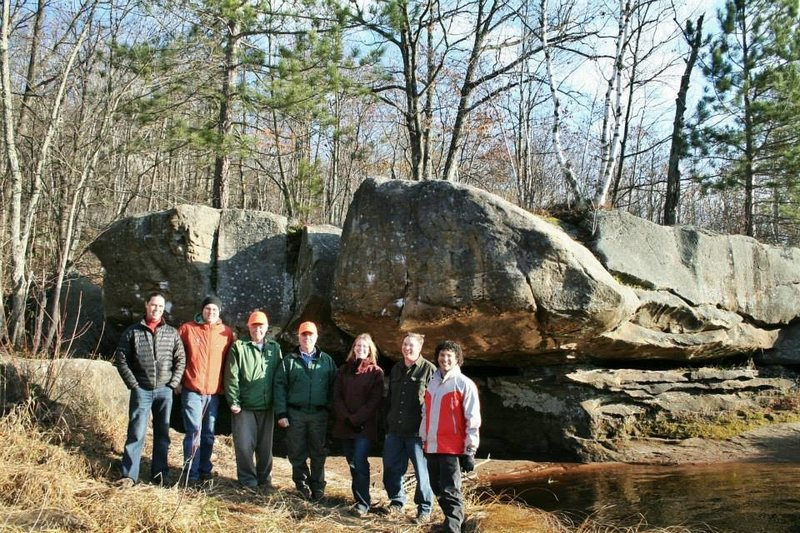 Rock Climbing Photo: MCA board members met with Parks and Trails Counci...