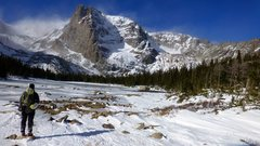 Rock Climbing Photo: Went out there Nov. 3rd, 2013. Way too much snow o...