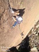 Rock Climbing Photo: Climber: Carolyn Davidson.