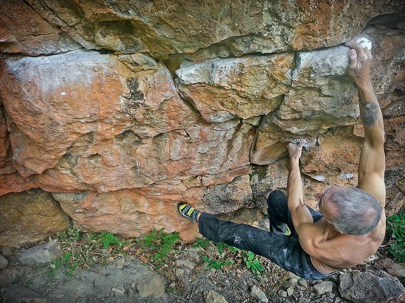 Rock Climbing Photo: 1 of 8 sequence.