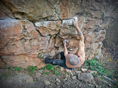 Rock Climbing Photo: 2 of 8 sequence.