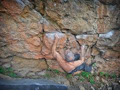 Rock Climbing Photo: 3 of 8 sequence.