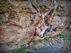 Rock Climbing Photo: 5 of 8 sequence.