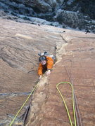 Rock Climbing Photo: She's from Wyoming.