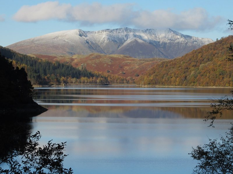 Thirlmere Lake with Blencathra Mt. NW England. Photo taken 10th Nov 2013