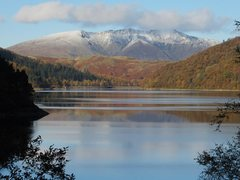 Rock Climbing Photo: Thirlmere Lake with Blencathra Mt. NW England. Pho...