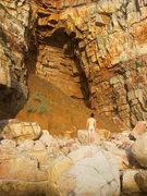 Rock Climbing Photo: Me. The Cave. Life.
