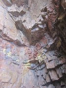 Rock Climbing Photo: Right inside cave