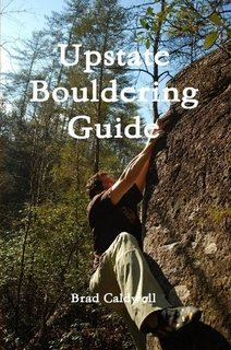 Cover of Upstate Bouldering Guide