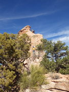 Rock Climbing Photo: New School Route