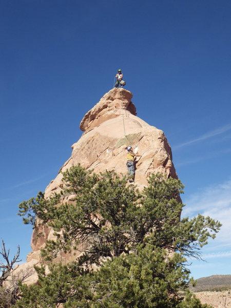 Rock Climbing Photo: john startin up