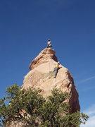 Rock Climbing Photo: crux 1