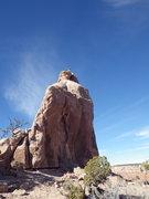 Rock Climbing Photo: crux 2
