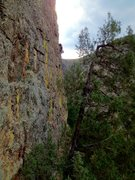 Rock Climbing Photo: Crystal Wall in Poudre Canyon