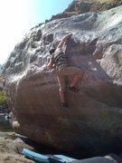 Rock Climbing Photo: ship wrecked V5+