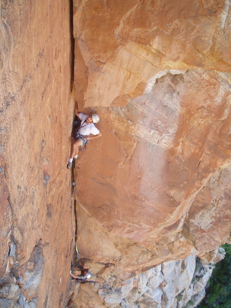 crack climbing?