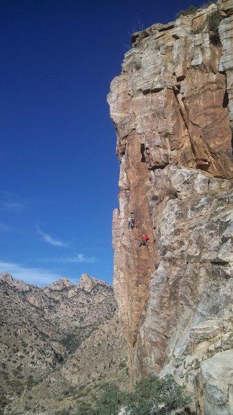 Rock Climbing Photo: Miracle Man var.