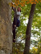 Rock Climbing Photo: Taylor on Overlord