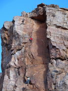 Rock Climbing Photo: photographer