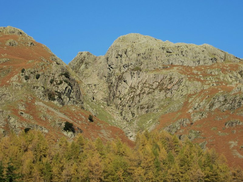 Rock Climbing Photo: White Ghyll Crag