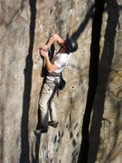 Rock Climbing Photo: Straight Edge 5.12A