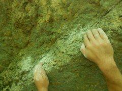 Rock Climbing Photo: The starting rail