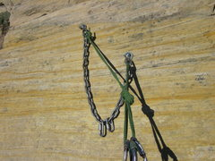 Rock Climbing Photo: All the belay stations were as bomber as the one p...