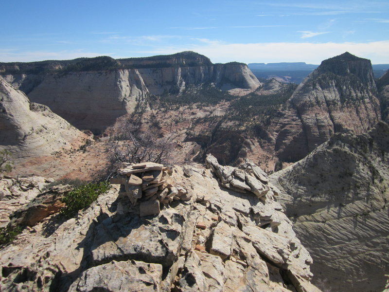 Rock Climbing Photo: View from the top.  Worth the 3rd class scramble f...
