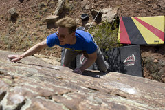 Rock Climbing Photo: The Patience of Friction.
