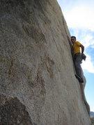 Rock Climbing Photo: Jason on Aero Space
