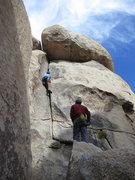 Rock Climbing Photo: Sean on Grit Roof