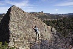 Rock Climbing Photo: Nick Reecy on The Patience of Friction.
