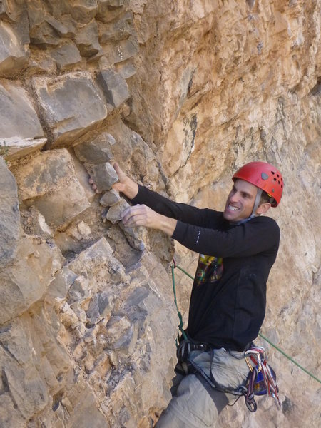 Rock Climbing Photo: Milk Bone (10a)
