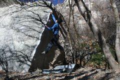 Rock Climbing Photo: Das craiger at it again