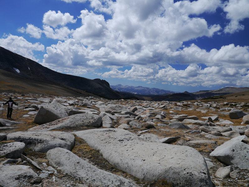 Rock Climbing Photo: Third pillar of dana descent.