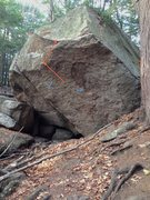 Rock Climbing Photo: This photo shows the starting holds and general li...