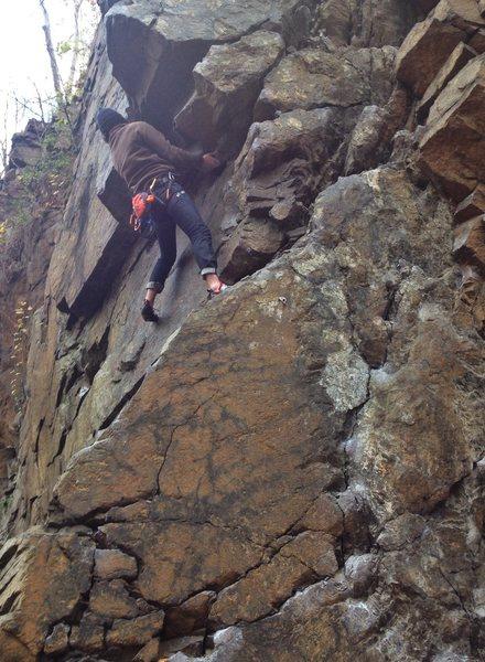 Rock Climbing Photo: Face O Meter [5.10]