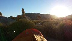 Rock Climbing Photo: Another gorgeous sunrise at HVCG