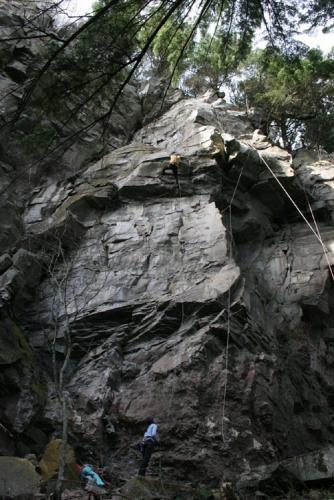 Kevbone on the crumbling.  2005