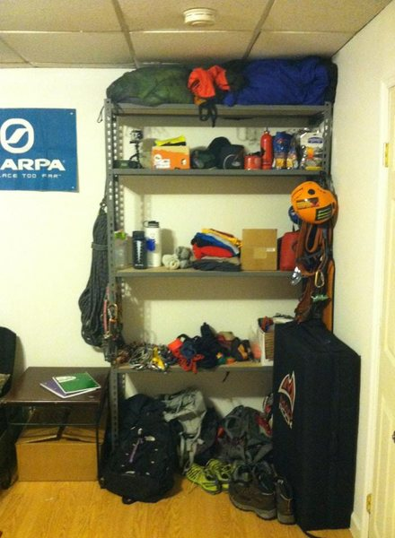 Rock Climbing Photo: Not fancy (or extremely organized) but it does the...