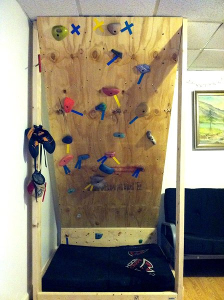 Rock Climbing Photo: More of a training board than a woody...