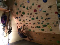 Rock Climbing Photo: Testing it out before getting the mattresses.