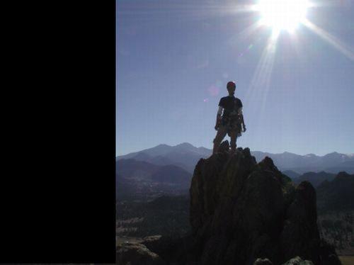 Rock Climbing Photo: poser