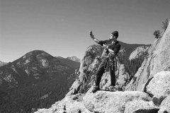Rock Climbing Photo: Kyle Kingrey, a gentleman and a scholar.  And a fr...