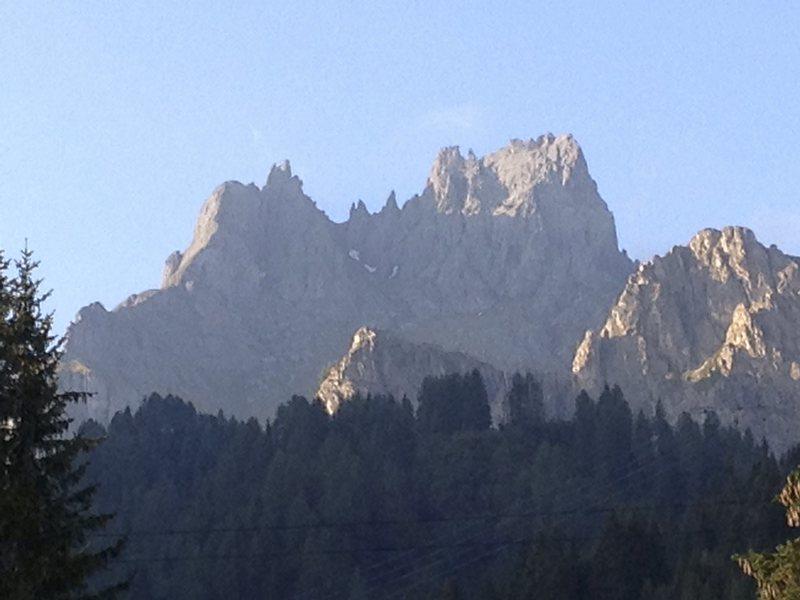 Via delle Tricee ridge line